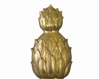 Vintage Pineapple Door Knocker Brass Pineapple Door Knocker Welcome Ananas  Door Furniture Doorknobs Pineapple Home Decor