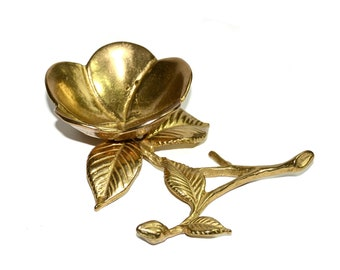 Objective Antique Vtg Brass Sea Shell Soap Dish Holder Selling Well All Over The World Plumbing & Fixtures