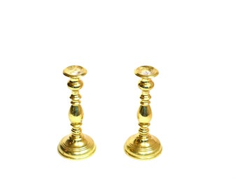 Brass Candle Holders Brass Candlesticks Virginia Metal Crafters Candlesticks Wedding Candles Wedding Decor