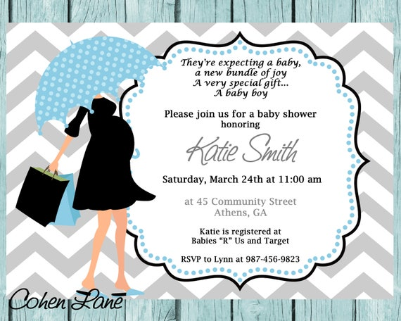 Printable modern mom baby shower invitation printable baby etsy image 0 filmwisefo