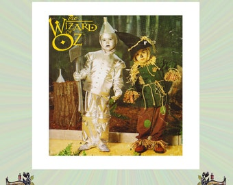 39ab340a4 Wizard Of Oz Tin Man And Scarecrow Costumes For Kids Size 3-4-5-6-7-8  Halloween Costume Simplicity Sewing Pattern 0634 Sc 1 St Etsy