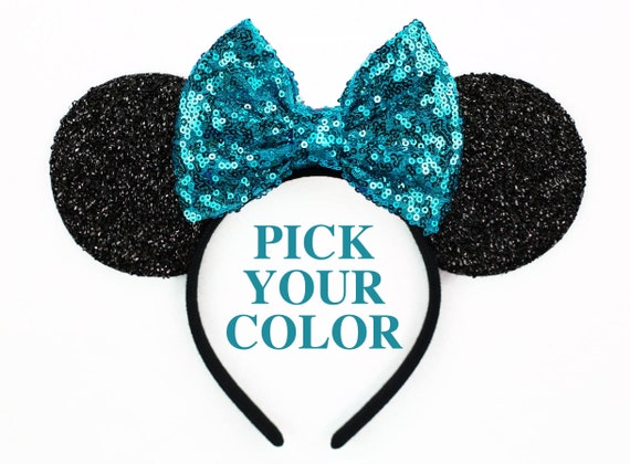 sc 1 st  Etsy & Minnie Mouse Ears Halloween Costume Mickey Mouse Ears Disney