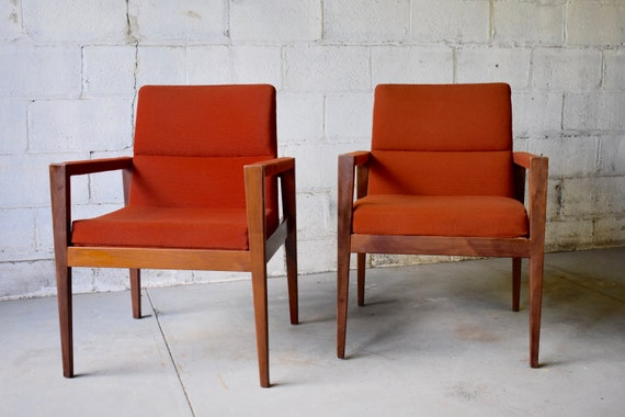 Surprising Jens Risom Mid Century Modern Armchair Ocoug Best Dining Table And Chair Ideas Images Ocougorg
