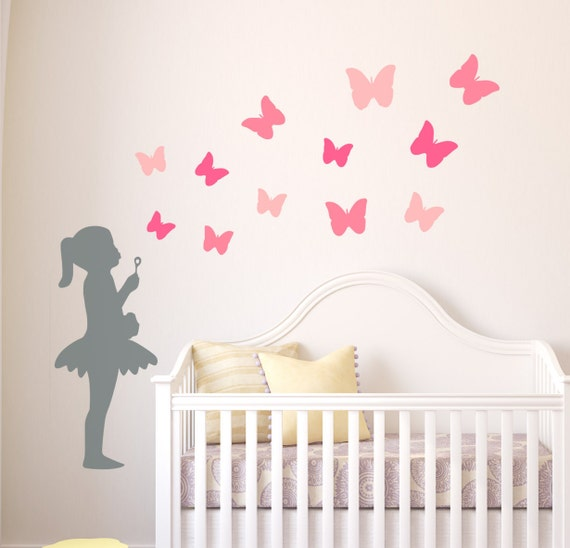 nursery wall decal nursery wall stickers kids wall decals | etsy