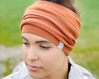 Bamboo Fleece Headwraps with a one for one donation to a woman fighting cancer