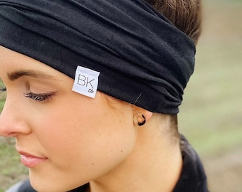 Bamboo Jersey Head Wraps with a one for one donation to Women fighting Cancer