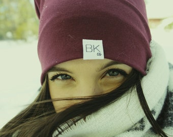Pinot Bamboo Slouch Beanie- For every hat sold we donate one of our softest bamboo hats to kids fighting cancer