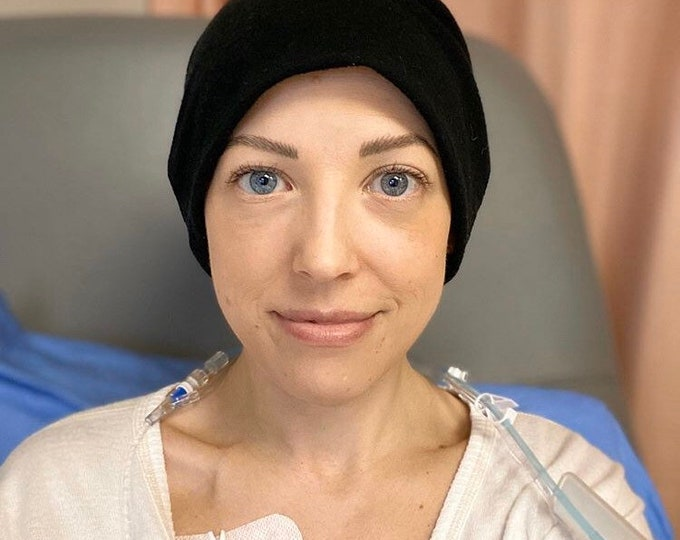 Featured listing image: Chemo hats- These hats are specifically designed for Cancer patients Lightweight Bamboo Jersey, zero irritation