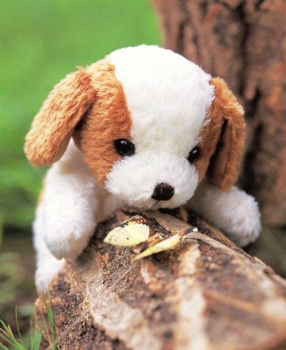 Cute Saint Bernard Puppy Plush Sewing Pattern Pdf Etsy