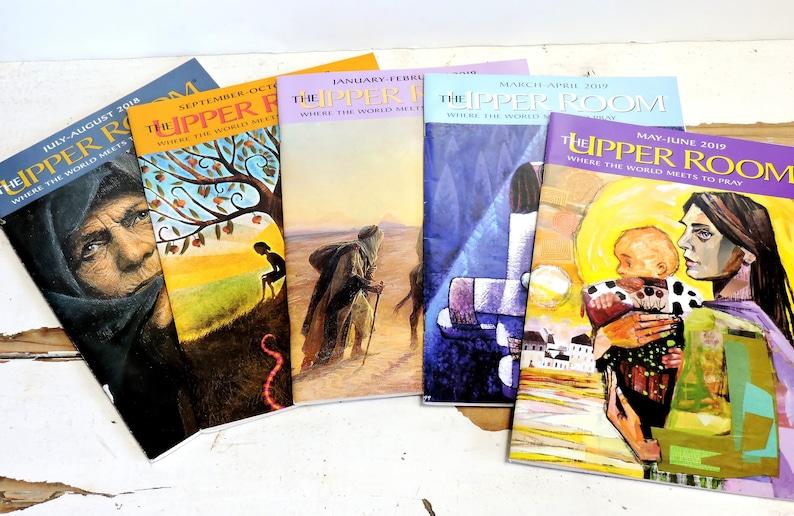 Upper Room Magazines Christian Daily Devotional Readings Back image 0