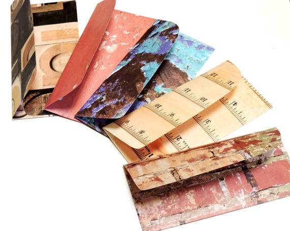 Cash Envelope System Money Gift Envelopes Gift Card Holders Textured Patterned Letter Savings Organizer Budget Paper Pouches itsyourcountry