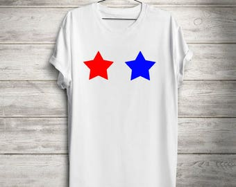 Fourth Of July tee, Stars T-shirt, Patriotic T-shirt, Fourth of July Tank, Patriotic T-shirt,  Independence Day, Memorial Day Shirt