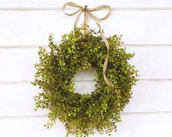 MINI Window Wreath-BABY Eucalyptus Wreath-Farmhouse Decor-Small Wreath-Wreath-Farmhouse Decor-Eucalyptus Wreath-Wall Decor-Small Wreath-Gift