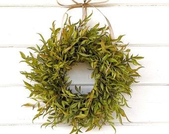 Fall Wreath-MINI Wreath-Window Wreath-Greenery Wreath-Farmhouse Décor-Fall Décor-Autumn Wreath-Artificial Wreath-Wall Décor-Small Wreath