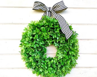 Farmhouse Wreath-Farmhouse Decor-NEW 2018-Fall Wreath-Winter Wreaths-Greenery Wreath-Lemon Leaf WREATH-Wreath-Spring Wreath-Summer Wreath
