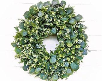 Farmhouse Wreath-ENCLAVE Wreath-Door Wreath-Wreaths-Fall Wreath-Greenery Wreath-Farmhouse Décor-Outdoor Wreath-Wedding Décor-Wedding Decor