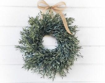 MINI Wreath-Fall Window Wreath-Greenery Wreath-Farmhouse Décor-Halloween Wreath-Fall Home Decor-Holiday Wreath-Buffalo Plaid Wreath-Gifts