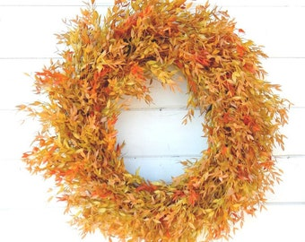 Fall Wreaths-Autumn Wreath-Fall Door Wreath-Farmhouse Decor-Fall Decor-Autumn Decor-Outdoor Wreath-Front Door Wreath-Housewarming Gift-Gifts