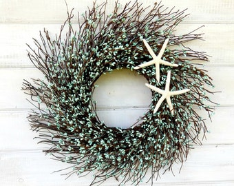 COASTAL BEACH Wreath