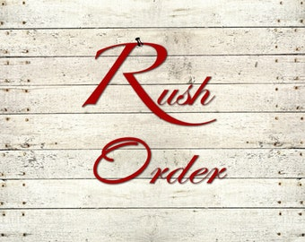 RUSH ORDER FEE- 1 Wreath-Production time 1-3 business days
