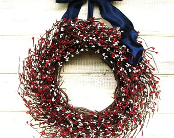 Patriotic Star Wreaths