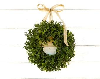 Greenery Wreaths Boxwood