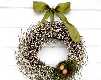 Farmhouse Wreath-Summer Wreath-Farmhouse Decor-Door Wreath-Housewarming Gift-Fall Wreath-Wall Hanging-Bedroom Decor-Scented Wreath-Gifts