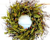 Fall Wreath-FALL TWIG Door Wreath-Autumn Wreath-Rustic Wreath-Fall Home Decor-Scented Pumpkin Spice-Fall Wreaths-Custom Made Wreaths-