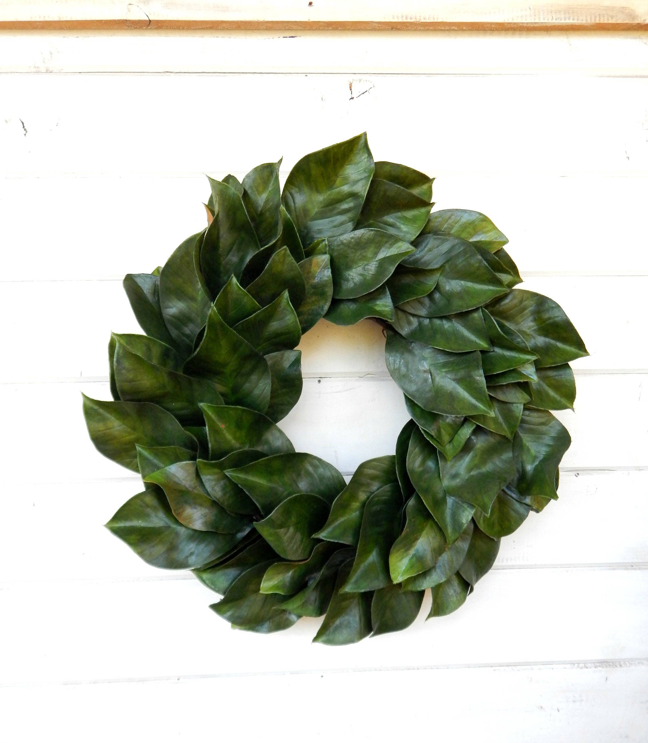 Magnolia Wreath Farmhouse Wreath Magnolia Door Wreath Outdoor