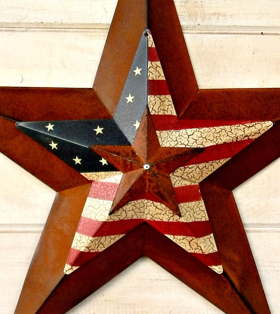 Star Home Decor Wall Hanging PRIMITVE American BARN STAR