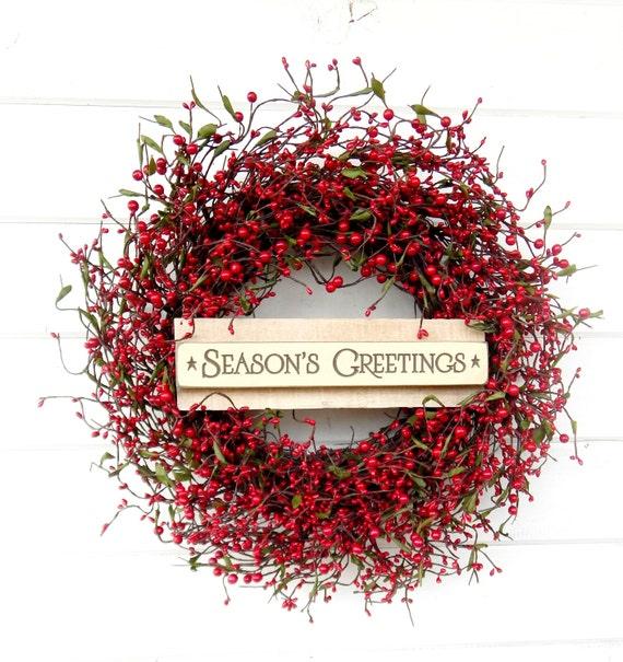 Guirnaldas De Navidad Guirnalda Invierno Guirnalda Navidad Etsy - Guirnalda-navidad