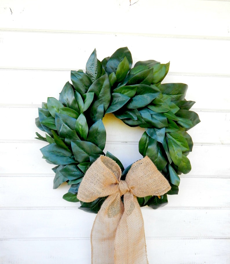 Magnolia Wreath Farmhouse Wreath Magnolia Door Wreath Outdoor Etsy