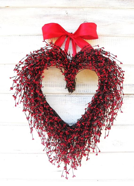 Wedding Wreath Wedding Decor Weddings Housewarming Gift Valentines