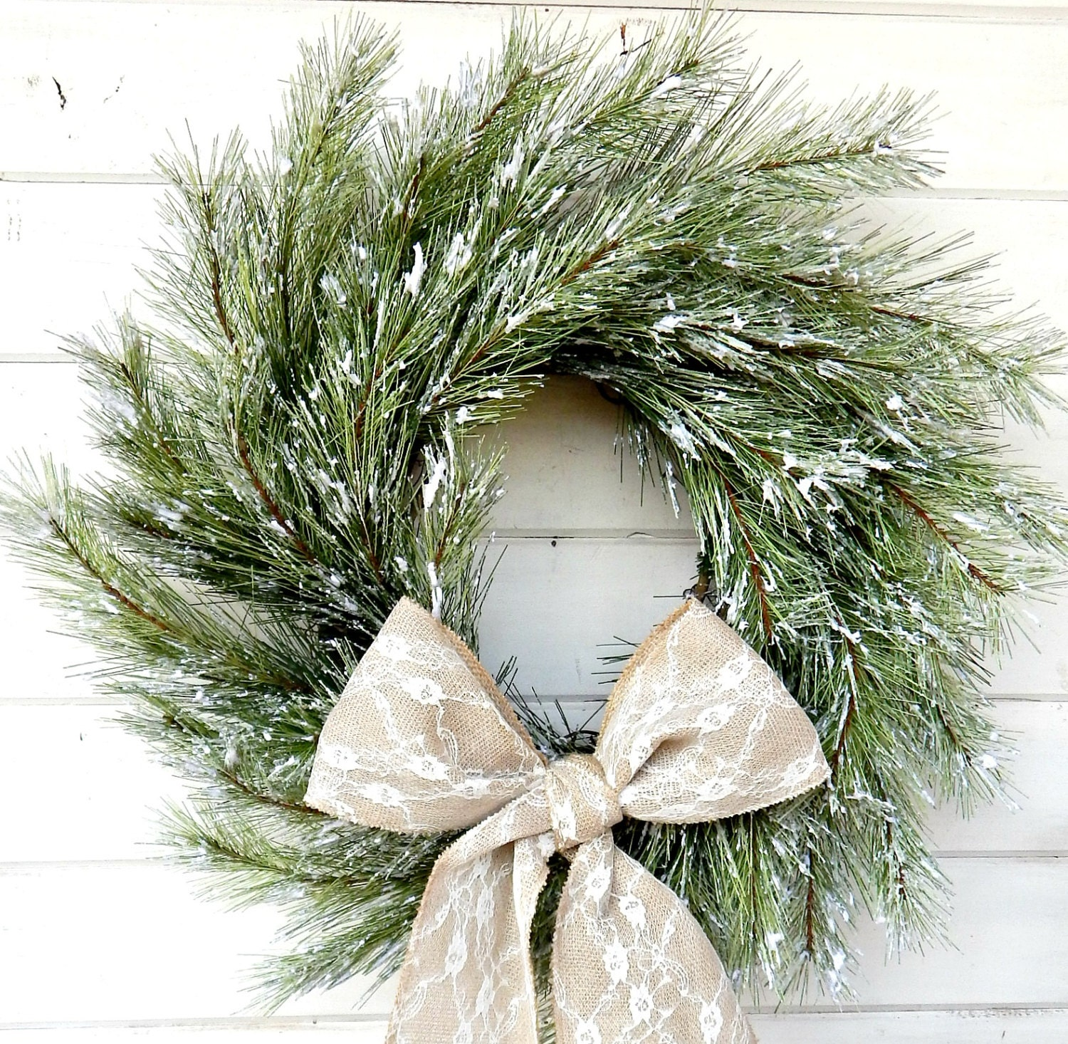 cyber monday sale christmas wreath snowy pine wreath winter door wreath holiday door wreath christmas wreath holiday home decor gifts