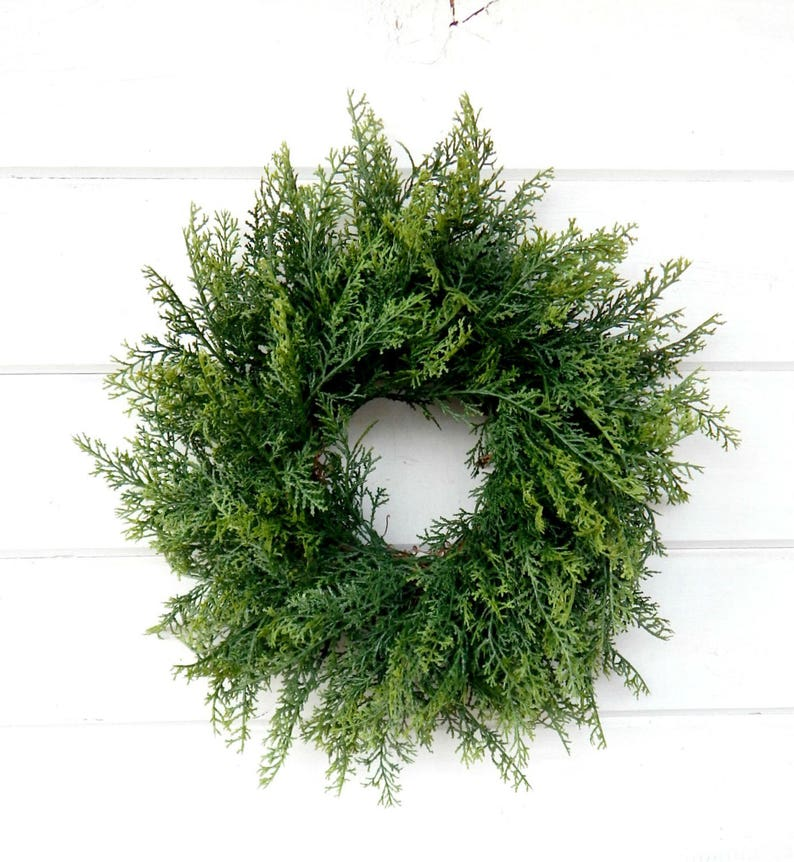 Christmas MINI Wreath-Winter Wreath-Holiday Wreath CEDAR Wreath-SCENTED Wreath-Holiday Home Decor-Christmas Wreath-Small Mini Wreath-Gifts