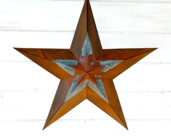Star Wall Hanging- Patriotic Star-Rustic Wall Hanging-Rustic Star Decor-Primitive Home Decor-Holiday Door Decor-Military Decor-Star Decor