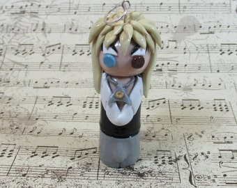 Jareth, Goblin King, Labyrinth, David Bowie, Polymer Clay, Handmade, 80s Movies, Dance Magic, Labyrinth Figurine, You Remind Me of the Babe