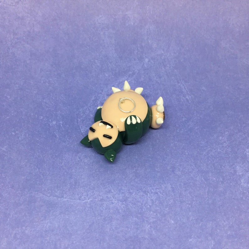 Pokemon Ornament Snorlax Kanto Region Polymer Clay Snorlax Figurine Sleeping Pokemon Pokemon Go Handmade Pokemon Figurine Pokemon