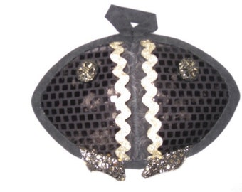 Black Scaly Fish Hot Pads