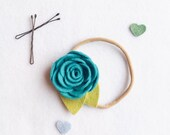 Toddler Headband.  Felt Flower Headband. Newborn Headband. Cake Smash Prop. Photo Prop. Hair Flower. Flower Headband Wedding. Flower girl