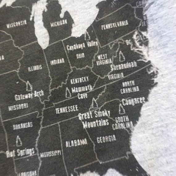 Parcs nationaux t-shirt chemise, t-shirt nationaux homme femme, t-shirt en plein air, montagne chemises, parc et rec chemise, t-shirt randonnée T Shirt Camping, t-shirt unisexe 0b074c