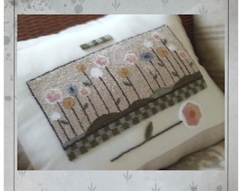 PRINTED - Needle Punch Pattern - (Scrappy) (PNP184P) - by Kate Gillery at © Briar Cottage