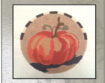 DOWNLOAD - Punch Needle Embroidery Pattern- BEGINNERS Pattern Lesson 1 (Just starting) (PNP 171) - by Kate Gillery at © Briar Cottage Studio