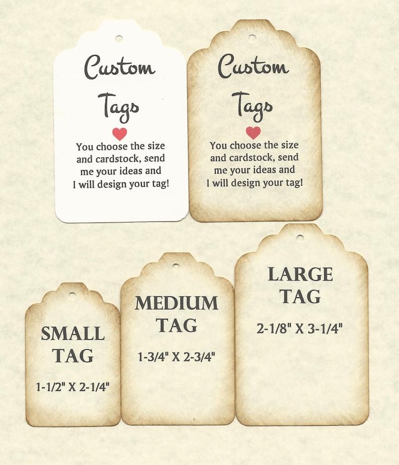 50 Custom Tags-ANY size available-wedding favor tagsthank you tagsanniversarybirthday tags,shower tags,graduation tag,baptismchristening