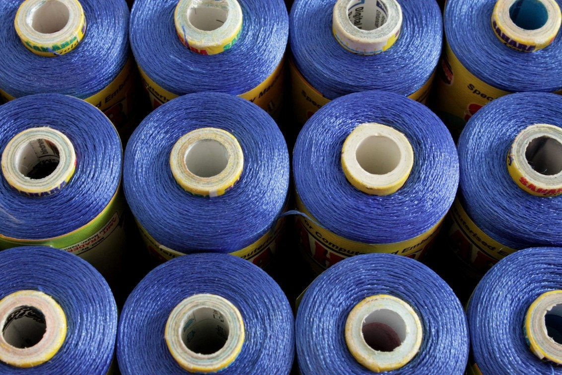 2000 Meters Of Art Silk Thread Machine Embroidery Etsy
