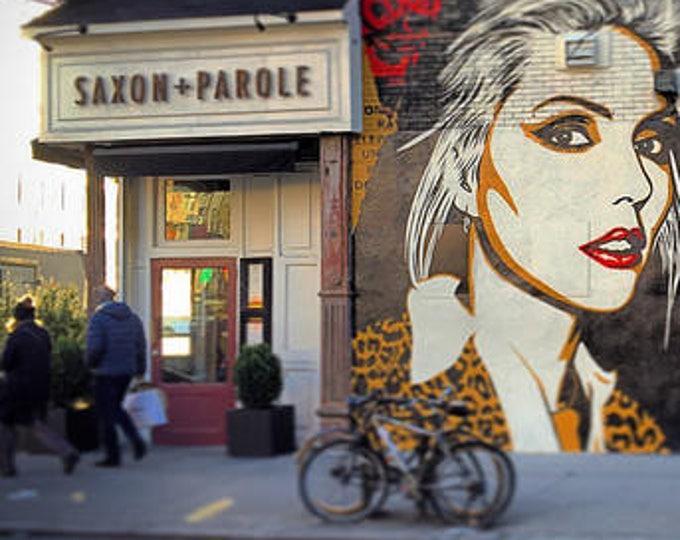 BLONDIE street art MURAL