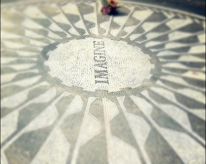 Imagine John Lennon Memorial in NYC