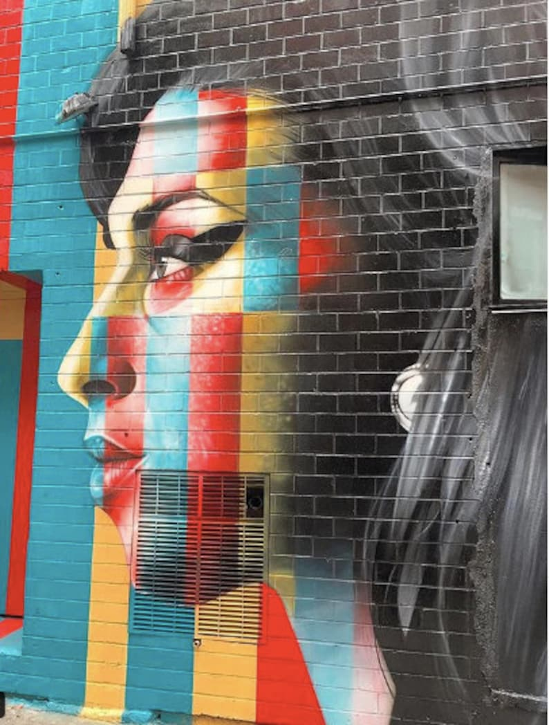 Street Art  Amy Winehouse image 0