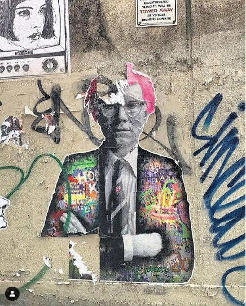 Andy Warhol Street Art Photography image 0