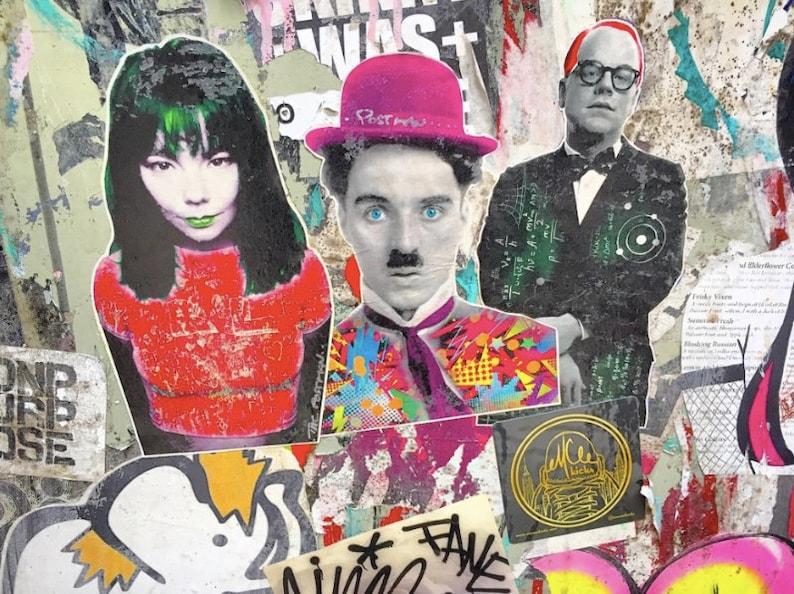 Bjork Chaplin Hoffman Street Art Photo image 0
